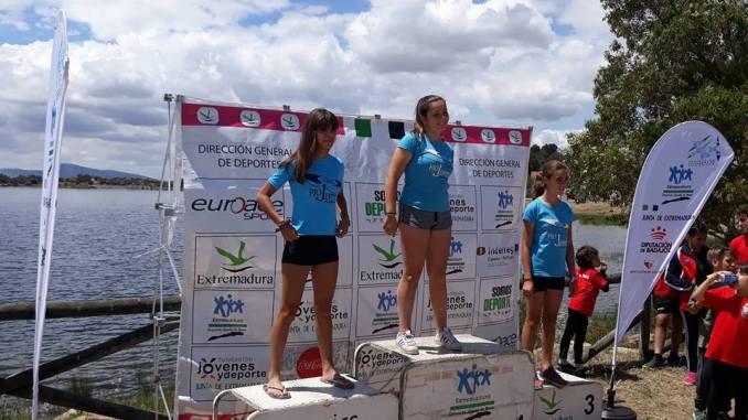 El Club Río Jerte consigue 11 podiums en el Campeonato de Extremadura