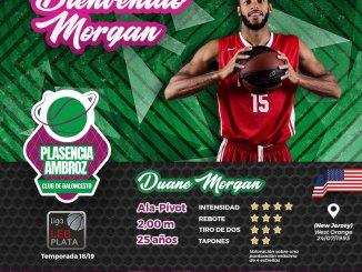 Duane Morgan, refuerzo interior para el Extremadura Plasencia