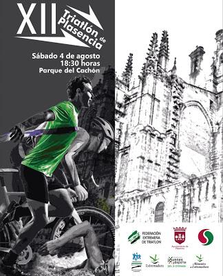 El XII Triatlón Ciudad de Plasencia se celebrará el 4 de Agosto 2018