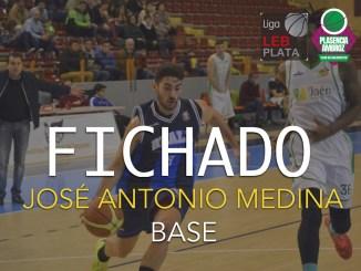 Jose Antonio Medina llega de la mano de Rafa Sanz