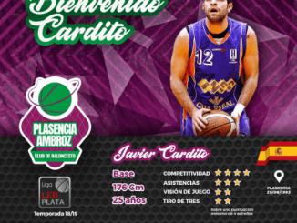 Javier Cardito regresa a su casa