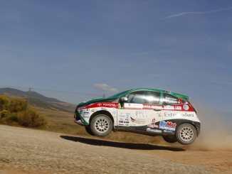 El placentino Paco Montes y David Collado segundos en Navarra tras los líderes de la Copa Kobe Motor