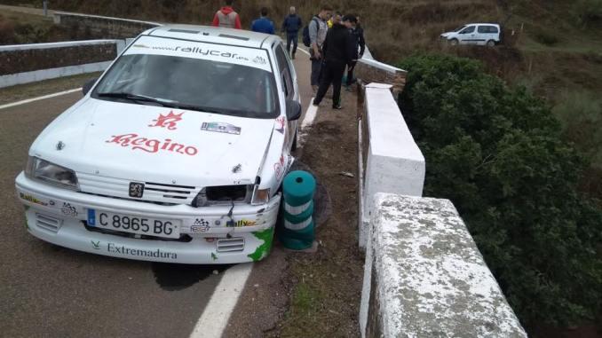 Paco Montes y David Collado no completan el IV RallySprint Culebrín – Pallares