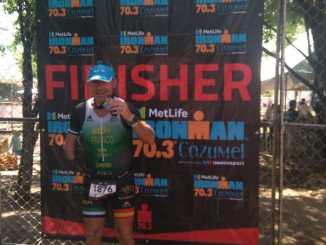 Gran esfuerzo y excelente experiencia vivida en el Ironman 70.3 de Cozumel 2018