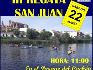 El Club Río Jerte organiza este sábado en el Cachón la III Regata de San Juan