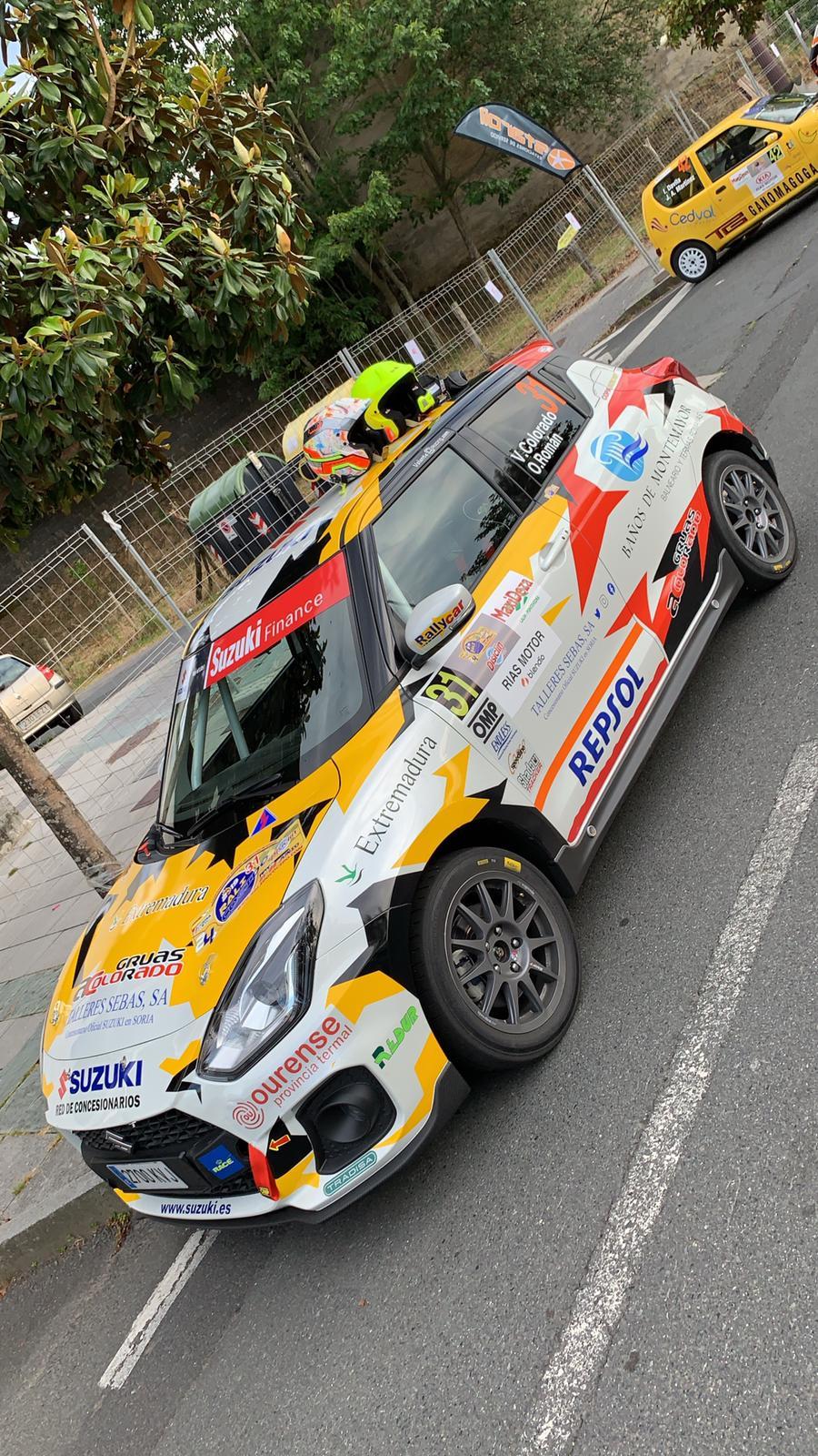 Nueva oportunidad para el Q Racing Extremadura en el Rallye de Ferrol