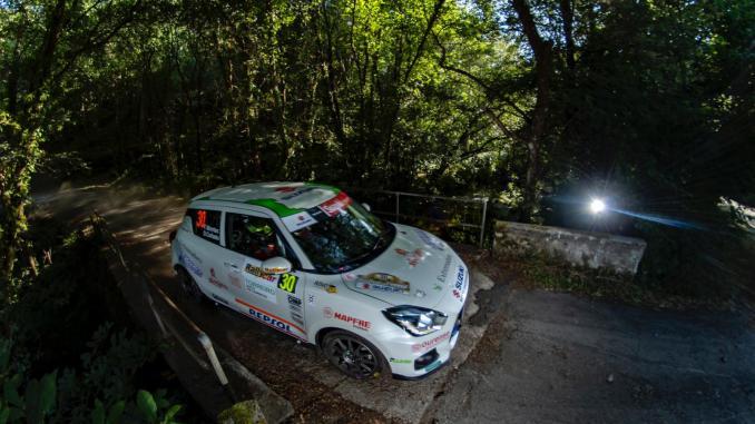Una salida de pista impidió que Montes y Collado pugnarán por la décima plaza en Ferrol