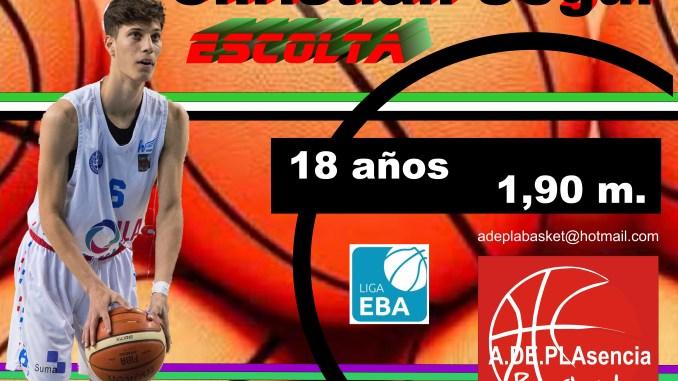 Christian Seguí, refuerzo exterior para el Adepla Basket