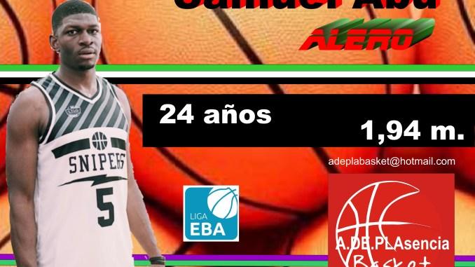 El nigeriano Samuel Abu jugará en el Plasencia Basket esta temporada