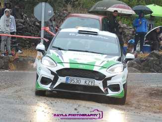 Grande y Sánchez undécimos en el Rallye de la Vendimia