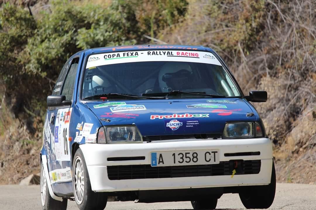 Mordillo y Hernández a mantener el liderato de la Copa FEXA/RallyAl en la Vendimia