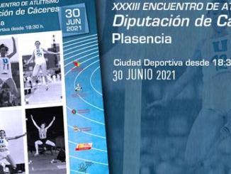 Encuentro de Atletismo Diputación de Cáceres