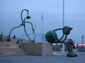 Las estatuas de los cuentos de hadas