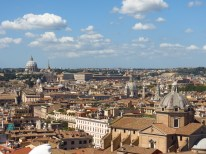 Desde el techo del monumento a Vittorio Emmanuele II