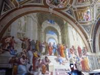 La Escuela de Athenas por Raphael