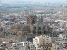 Catedral de Granada desde La Alcazaba