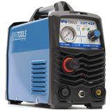 IPOTOOLS Plasmaschneider CUT-45R - Plasmaschneidgerät 45A bis 12 mm Schneidleistung Inverter Schweißgerät Plasma Cutter mit IGBT/HF Zündung/Blau / 230V - 1