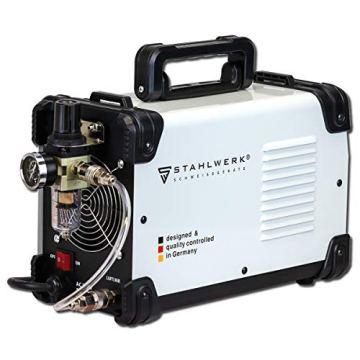 STAHLWERK CUT 40 ST IGBT Plasmaschneider mit 40 Ampere, bis 10 mm Schneidleistung, für Lackierte Bleche & Flugrost geeignet, 7 Jahre Herstellergarantie - 3
