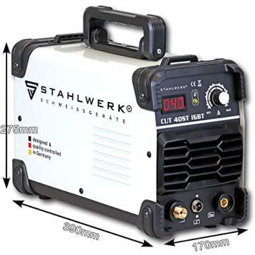 STAHLWERK CUT 40 ST IGBT Plasmaschneider mit 40 Ampere, bis 10 mm Schneidleistung, für Lackierte Bleche & Flugrost geeignet, 7 Jahre Herstellergarantie - 5
