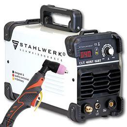 STAHLWERK CUT 40 ST IGBT Plasmaschneider mit 40 Ampere, bis 10 mm Schneidleistung, für Lackierte Bleche & Flugrost geeignet, 7 Jahre Herstellergarantie - 1