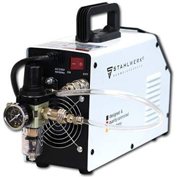 STAHLWERK CT550 ST - kompaktes WIG/MMA Schweißgerät mit Plasmaschneider bis 12mm, 200 Ampere WIG/MMA + 50 Ampere CUT, 7 Jahre Garantie, weiß - 4