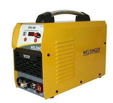 WELDINGER EPS180 Elektroden-Schweißinverter + Plasmaschneider Kombigerät 180A/45 A - 2