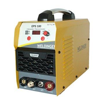 WELDINGER EPS180 Elektroden-Schweißinverter + Plasmaschneider Kombigerät 180A/45 A - 3