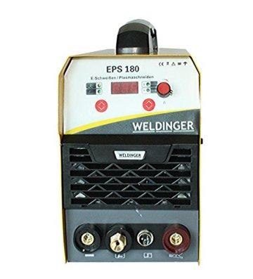 WELDINGER EPS180 Elektroden-Schweißinverter + Plasmaschneider Kombigerät 180A/45 A - 4