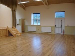 main hall looking towards kitchen