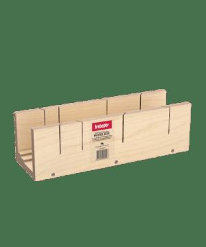 Intex PlasterX® Dual Wooden Mitre Box (90° & 135°, 55, 75 & 90 Cornice)