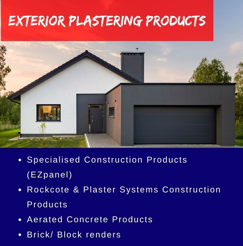 Exterior Plastering Supplies
