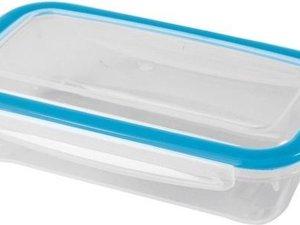 2x Voorraad/vershoudbakjes 0,5 liter transparant plastic/kunststof - Kiev - Luchtdicht/hermetisch afgesloten vershouddoos bakje - Mealprep - Maaltijden bewaren