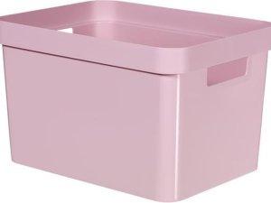 Curver Infinity Opbergbox - 17L - Kunststof - Roze