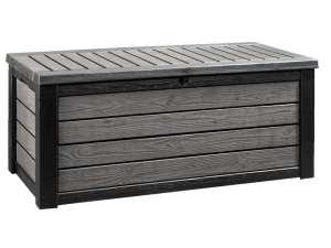 Keter opbergbox Brushwood XL - grijs - 155x72,4x64,4 cm - Leen Bakker