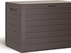 Opbergbox Kussens Box Woode Small 78x44x55cm 190L UMBER BRUIN Prosperplast