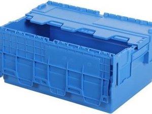 Opbergbox / Stapelkrat - Polypropyleen - 42 liter - Blauw