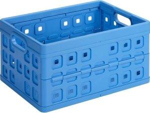 Sunware Square Vouwkrat - 32 l - blauw