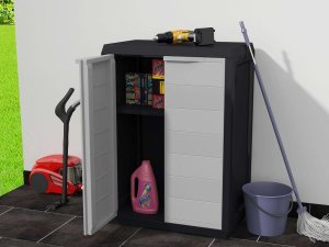 Tuin opberger / tuinkast / tuin kast / tuin opbergbox / tuin opbergkast / schoonmaak kast