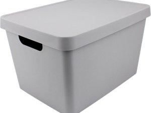 Vinto Opbergbox 17L - Grijs