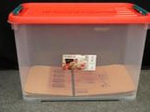 Allibert Handy 20 liter stapelbare opbergbox 9 stuks