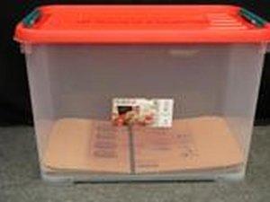 Allibert Handy 50 liter stapelbare opbergbox 9 stuks