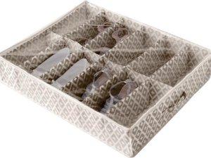 Onder-Bed Schoenen Opbergbox 12 vakken 'Daman Beige'