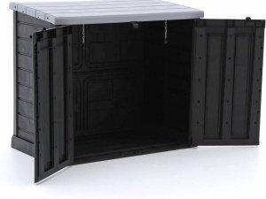 Keter opbergbox - Waterdicht - UV-bestendig - 76x110x132 cm (BxHxL) - Antraciet
