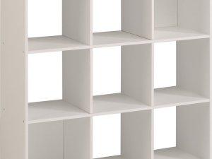 Opbergbox Kubikub met 9 vakken - wit