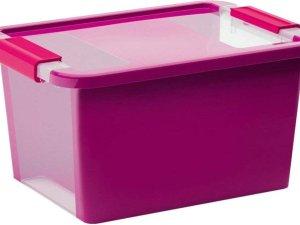 Kis Opbergbox Bi Box maat S 11L violet