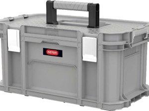 Kis All-in Box - Opbergbox - XL - Wit - 54.5x38.5x45.5cm - (set van 4) En Yourkitchen E-kookboek - Heerlijke Smulrecepten