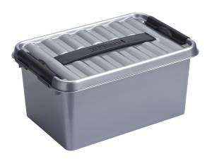 Sunware Q-line Opbergboxen/opbergdozen 6 Liter 30