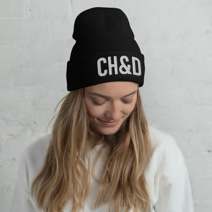 CH&D cuffed beanie