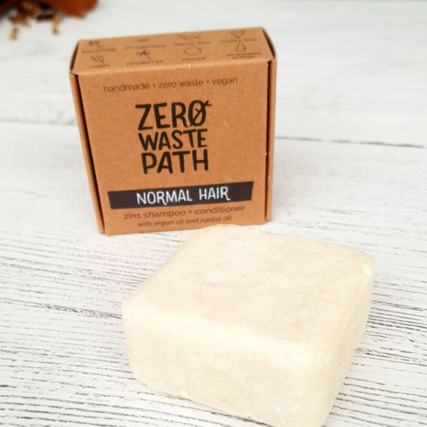 2 in 1 Solid Shampoo Bar - Normal Hair (1)