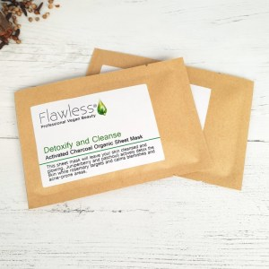 Detoxify and Cleanse Facial Sheet Mask Plastic Free Vegan